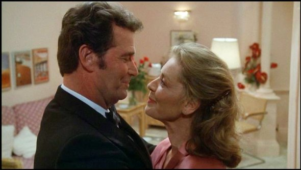 James Garner and Lauren Bacall
