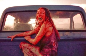 Marilyn Burns after surviving Leatherface