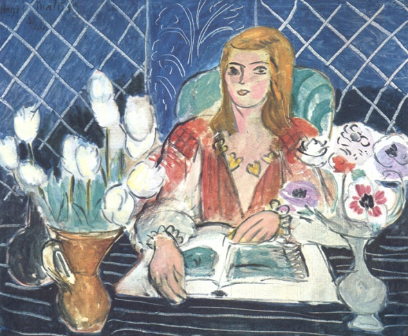 Matisse woman reading2