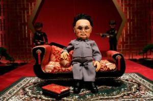 "Kim Jong Il puppet from ""Team America World Police."""