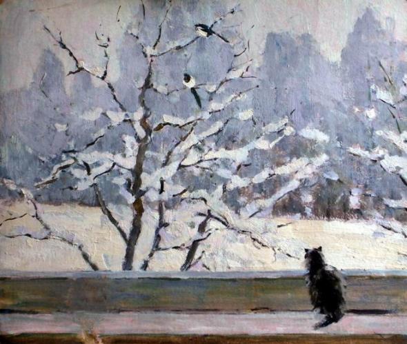 painting by Vladimir Tokarev