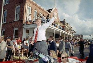 David Duke campaigning in 1991