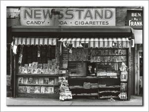 Manhattan newsstand