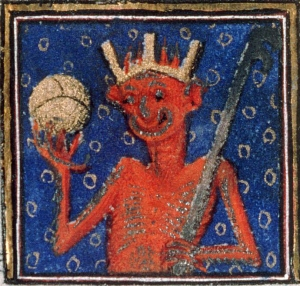 Devil changed his profile picture Breviary of Louis de Guyenne, Paris ca. 1414. Châteauroux, Bibliothèque municipale, ms. 2, fol. 1v