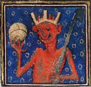 Devil changed his profile picture Breviary of Louis de Guyenne, Paris ca. 1414. Châteauroux, Bibliothèque municipale, ms. 2, fol. 1v