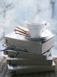 coffee books snow2