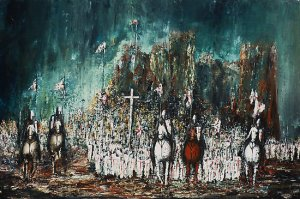 Crusade - Marching Out, by Kaye Miller-Dewing