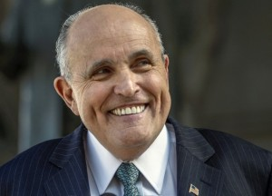 "The older and meaner Rudy gets, the more his ""smile"" looks like a rictus."