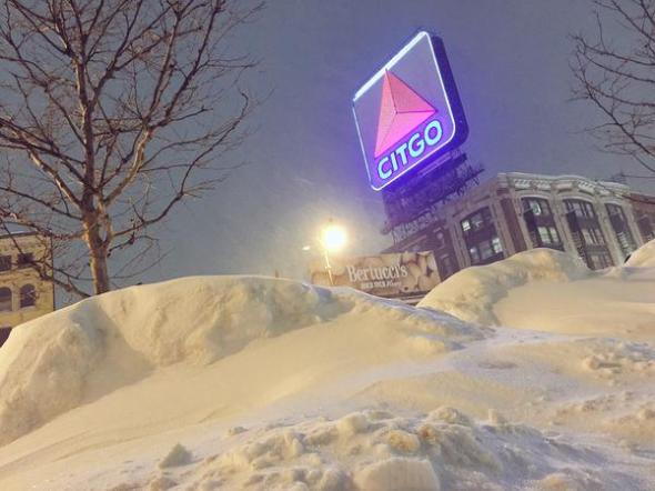 Kenmore Square and the famous CITGO sign.