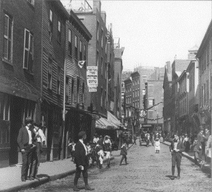 Salem St. (a Jewish area) in the Old West End