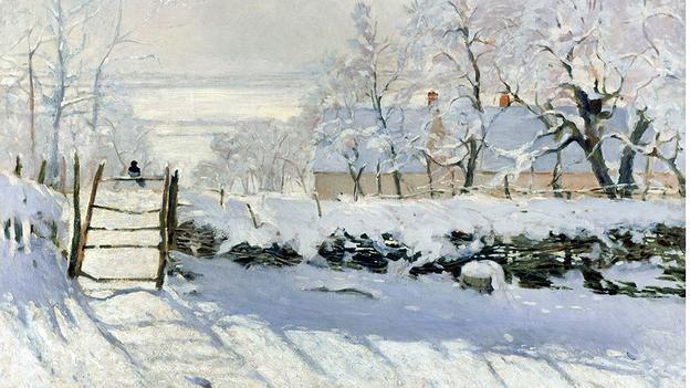 The Magpie, Claude Monet