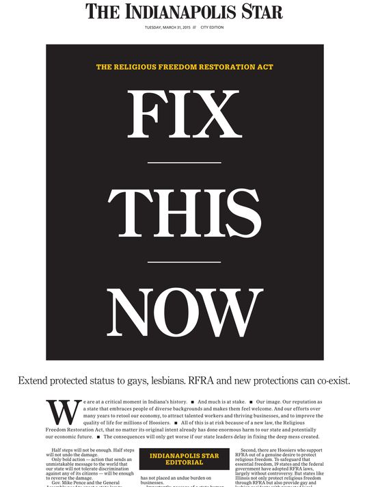 Indy star fix it