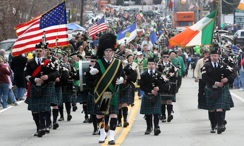 South Boston's St. Patrick's Day Parade, March 15, 2015