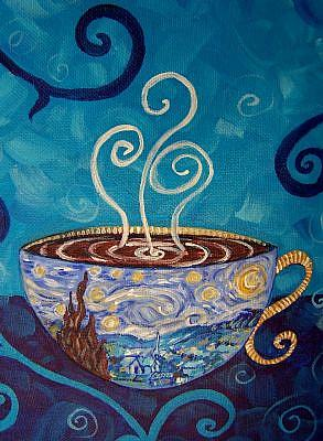 Starry-Night-Mocha-Latte-Coffee-House-Series-Sold