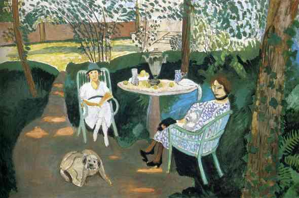 Matisse: Tea in the Garden, 1919
