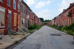 Abandoned row houses baltimore perlmanplace