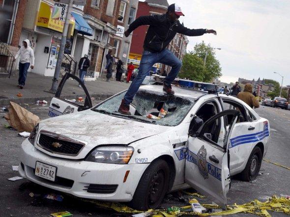 Baltimore, April 2015