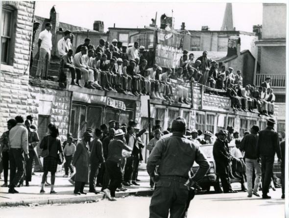 Baltimore in April, 1968