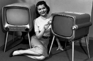 old-tv-set