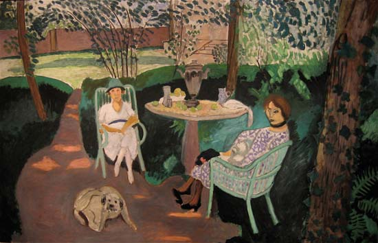 Tea in the garden darker