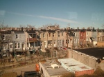 View of East Baltimore from Amtrak train by mr cookie