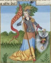 Hillary as Minerva