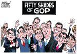 Cartoonist Gary Varvel: Fifty shades of GOP presidentialhopeful