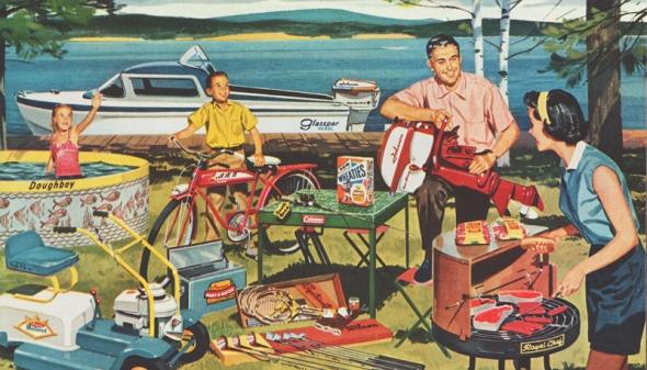 The American Dream - post-war abundance