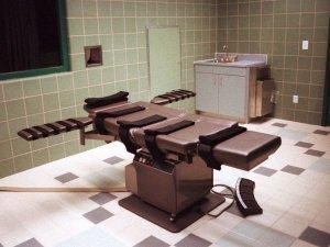 Death chamber at Terre Haute supermax prison