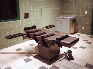Death chamber at Terre Haute supermax prison