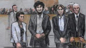 Tsarnaev showed no emotion as his death sentence was read.