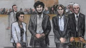 Tsarnaev showed no emotion as his death sentence was read.