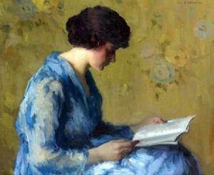 a-woman-reading Gyla Benczur