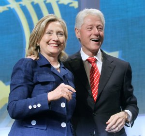 "The Clinton ""dynasty"": two people unrelated by blood."