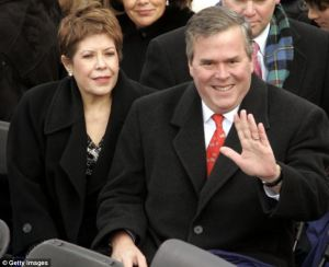 Columba and Jeb Bush