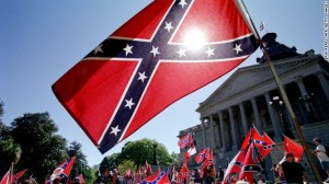Confederate-Flag-Flying-in-the-Sun
