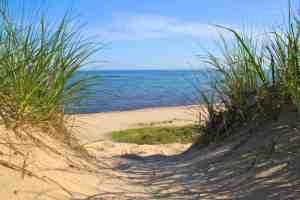 Another view of the Indiana Dunes.
