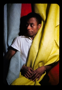 James Baldwin, 1955.
