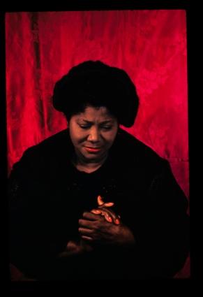 Mahalia Jackson, 1962.