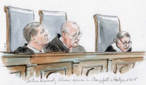 Justice Kennedy delivers opinion in same sex marriage