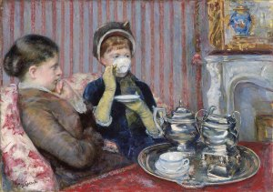 The Tea, Mary Cassatt