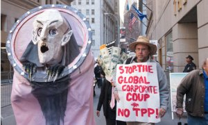 TPP protest new york