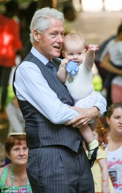 Bill Clinton and Charlotte