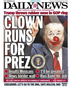 Clown runs for prez