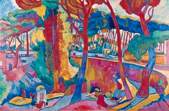 L'Estaque, by Andre Derain