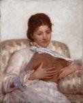 Mary Cassatt (1844-1926)The Reader1877Oil oncanvas