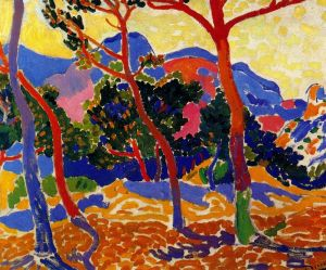The Trees, Andre Derain