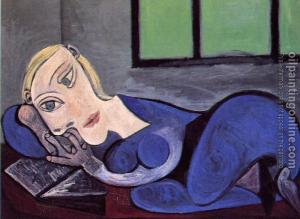 Woman reading, Pablo Picasso