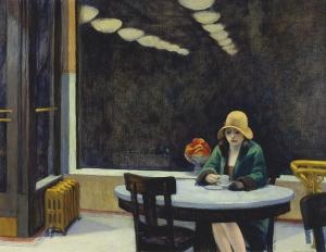Automat, Edward Hopper