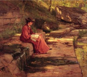 Daisy by the river, T.C. Steele